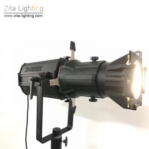 2Pcs/Lot Zita Lighting LED LEKO 200W Spotlights Pro Ellipsoidal Image Photography Spot Lights Studio Stage Lighting Focus Following Lights