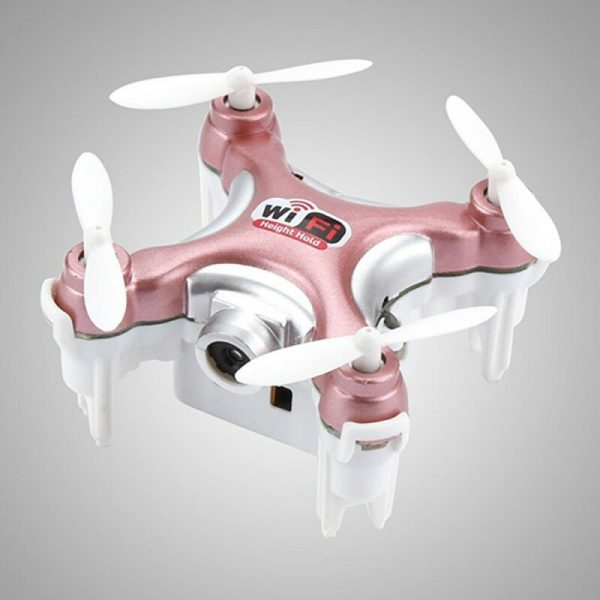 Cheerson CX-10WD Mini WiFi FPV Drone with 0.3MP Camera Altitude Hold Mode 2.4G 6-Axis RC Quadcopter BNF Version