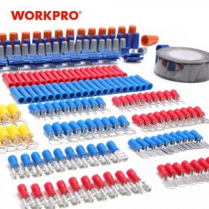 WORKPRO 582PC Electrician Network Fiber Optic Tool Set Kit