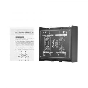 Muslady Dual-Channel Passive DI-Box