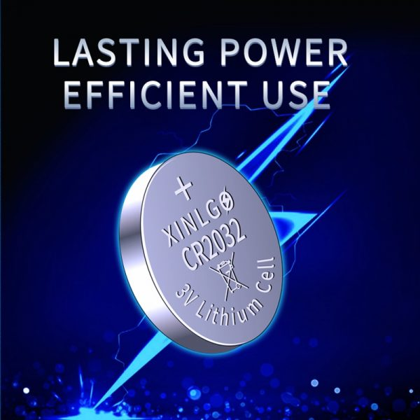 40PCS CR2032 DL2032 ECR2032 3v Lithium Coin Cell Batteries Loopacell