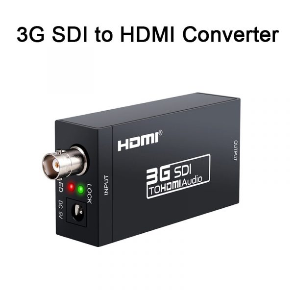 3G HDMI to SDI Converter / SDI to HDMI Adapter
