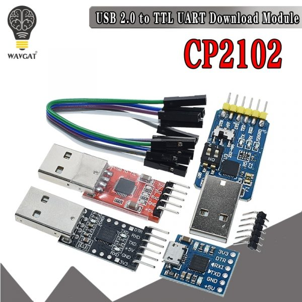 CP2102 USB 2.0 to UART TTL 5PIN Connector Module Serial Converter FT232 CH340 PL2303