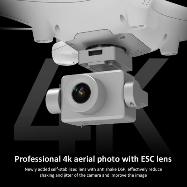 KALIONE X35 Quadcopter Drone - GPS 4K HD Camera Two-Axis Gimbal Stabilizer WIFI Brushless Motors