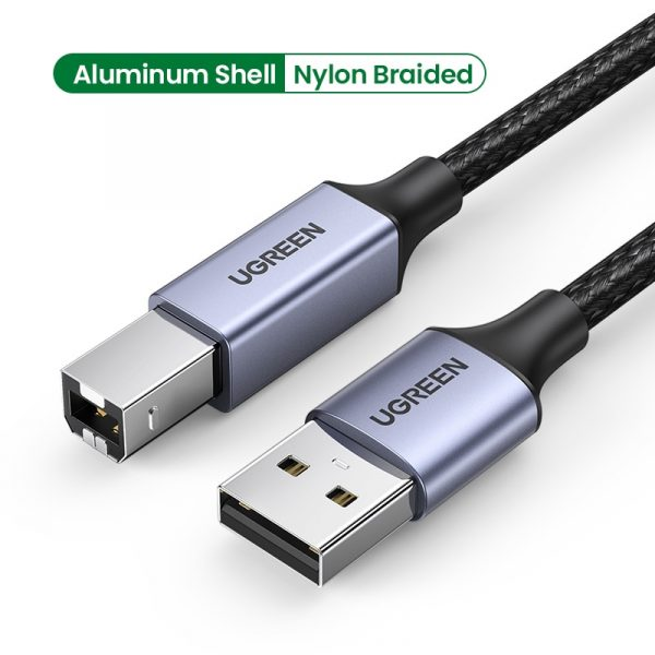 USB Cable USB Type B Male to A Male USB