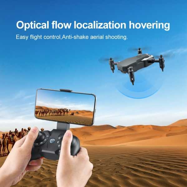 LF606 Wifi FPV Foldable RC Drone with 4K HD Camera Follow Altitude Hold 3D Flips Headless RC Helicopter Mini Aircraft Kid's Toys