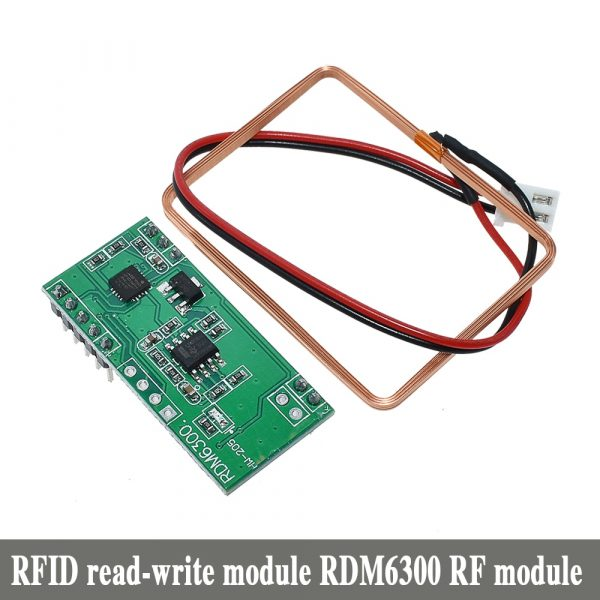 RFID module RC522 MFRC-522 RDM6300 Kits S50 13.56 Mhz 125Khz 6cm With Tags SPI