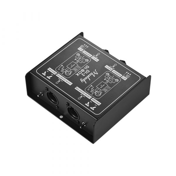 Muslady Dual-Channel Passive DI-Box