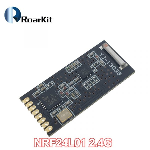 NRF24L01+PA+LNA with Antenna, Socket Adapter 2.4G Wireless Data Module 1100-Meter Range