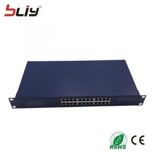"24 port gigabit switch ethernet rj45 UTP unmanaged layer 2 switcher hub rackmount 19"" chassis"