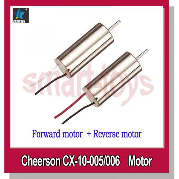 Cheerson CX-10 Quadcopter Spare Motor Set fits CX-10A CX-10C CX-10D CX-10W WLtoys V646 V676 Hubsan H111