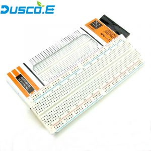 MB102 Breadboard For MB-102 Protoboard PCB Board BreadBoard 830 Point Solderless Universal Prototype Board