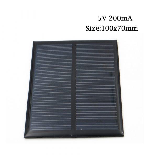 5VDC Solar Panel150 160 200 250 500 840 mA Solar Panel 5V Mini