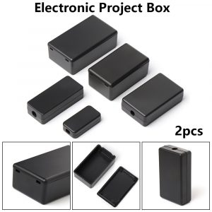 ABS Plastic Project Box Storage Case Enclosure Boxes 2pc