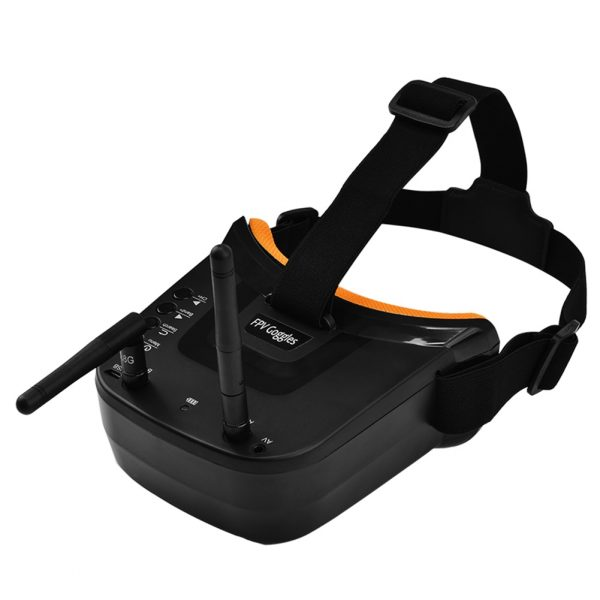 3 inch FPV Goggles 480x320 Display Double Antenna Reception 5.8G 40CH with Battery for FPV Racing Drones and Quadcopters