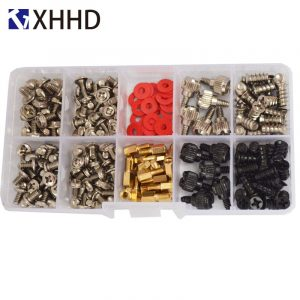 Computer Assembly Screw Bolt Standoff Washer Set Assortment Kit 227pc Box