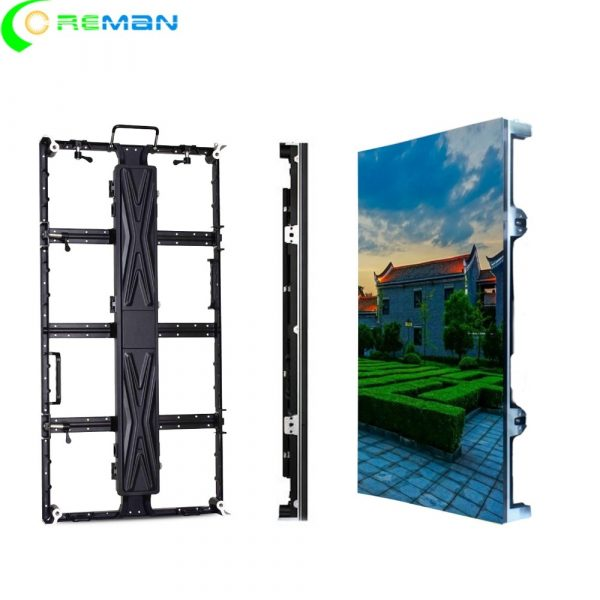500x1000mm LED Video Screen Frame Light Weight P3.91 P4.81