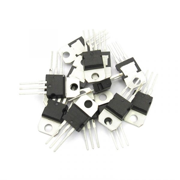 Transistor L78-L79 Series 7805 7806 7808 7809 7812 7815 7905 7912 7915 LM317 LM317T TO-220 (5 Count) Transistor