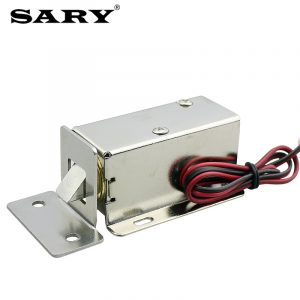 DC12V 0.8A small electromagnetic lock electric bolt for drawer file cabinet lock