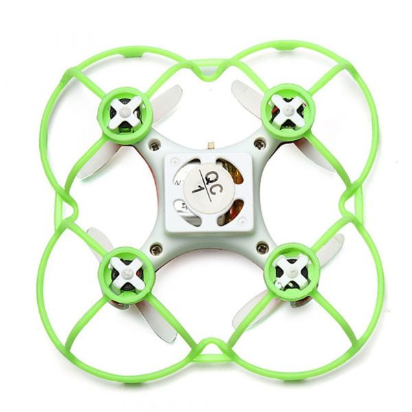 CX-10 CX-10A Cheerson Mini Quad Spare Parts Kit with Rotor Guard, Props and Spare Motors