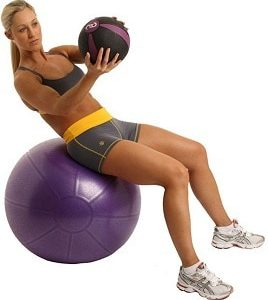 1kg Medicine Ball Slam Fitness Ball