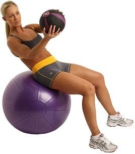 1kg Medicine Ball Slam Fitness Ball