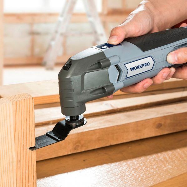 WORKPRO Reciprocating Saw 220V for Wood Working 300W Power Multi Tool
