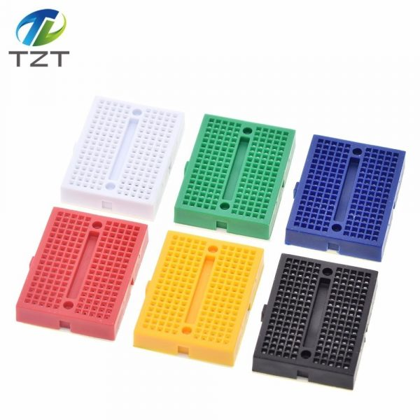 Mini Solderless Prototype Breadboard 170 Tie-points 35*47*8.5mm