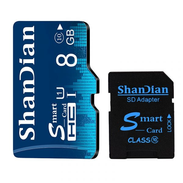 16GB 32GB 64GB Class 10 TF Memory Card 4GB 8GB Class 6 Smart SD Card
