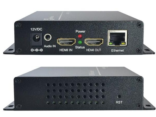 Video Encoder for Live Streaming MPEG-4 /H.264 H.265 AVC with HDMI Loop Out Full HD 1080p