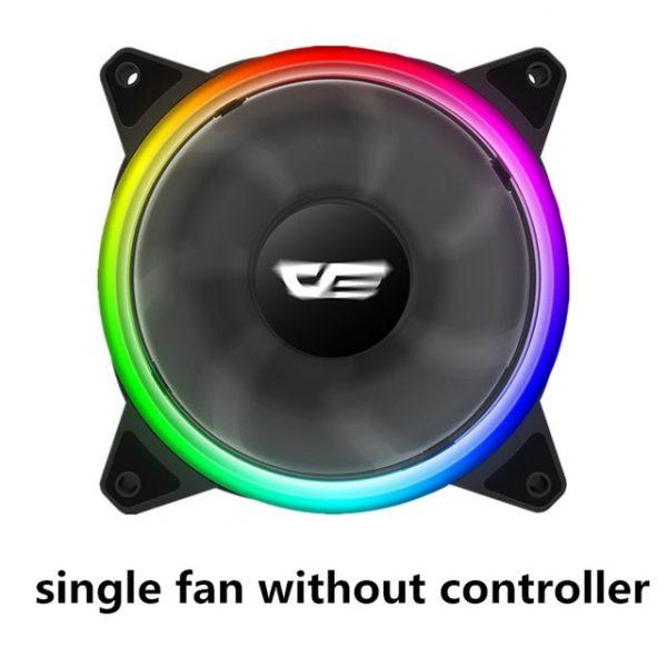 Computer Case PC Fan ARGB LED Cooling Fan 120mm AURA SYNC RGB Case Fans