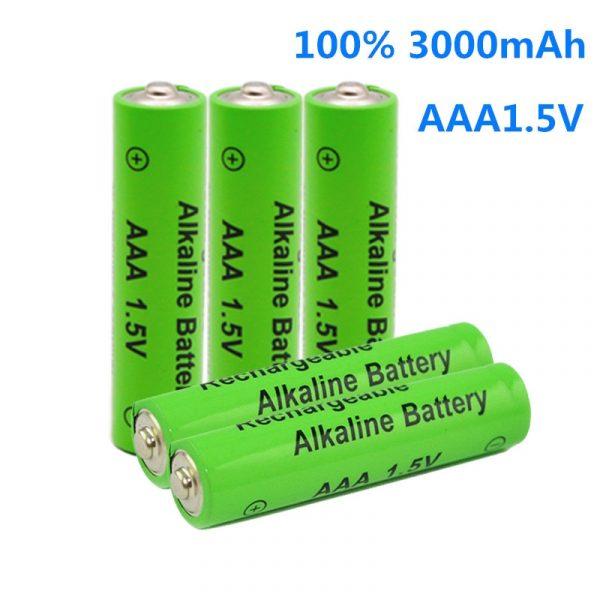 AAA battery 3000mAh 1.5V Alkaline