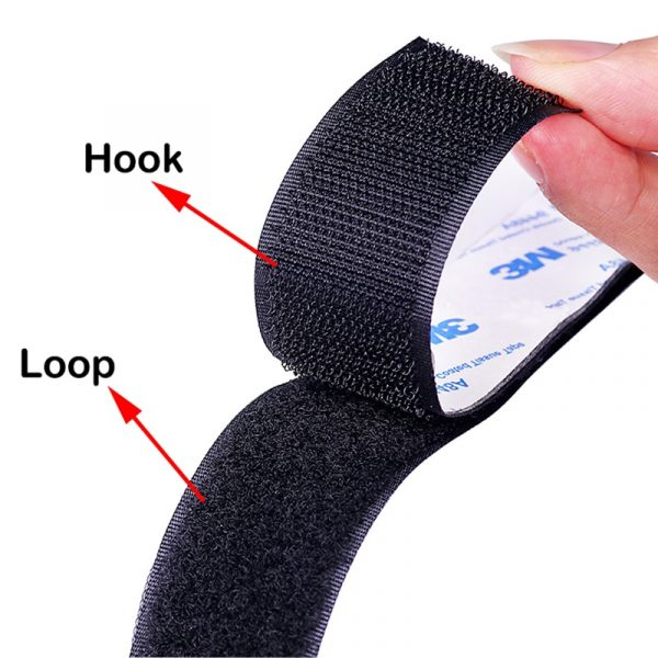 Heavy Duty Ultra Strong Self adhesive Hook and Loop Fastener Tape 20/25/30/38/50mm