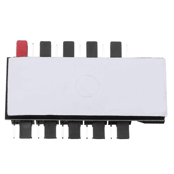 Computer Cooling Fans Hub Splitter 1 to 10 - 4Pin 12V PWM LED