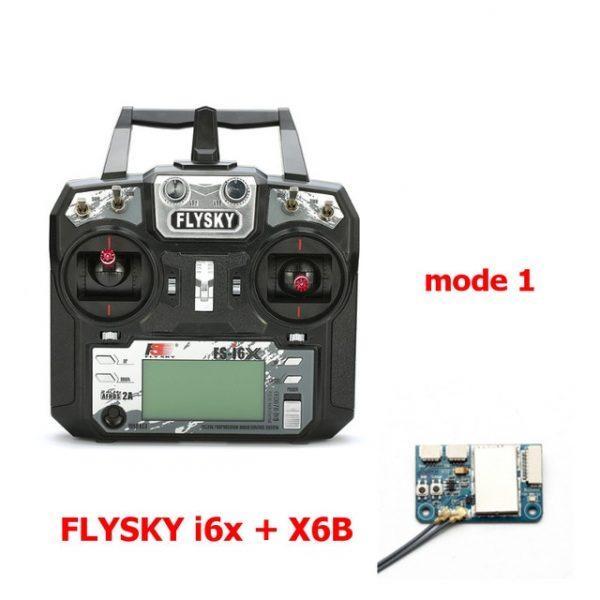 FLYSKY FS-i6X FS i6X 10CH 2.4GHz AFHDS 2A RC Transmitter With X6B iA6B A8S iA10B iA6 Receiver for FPV Racing Drone