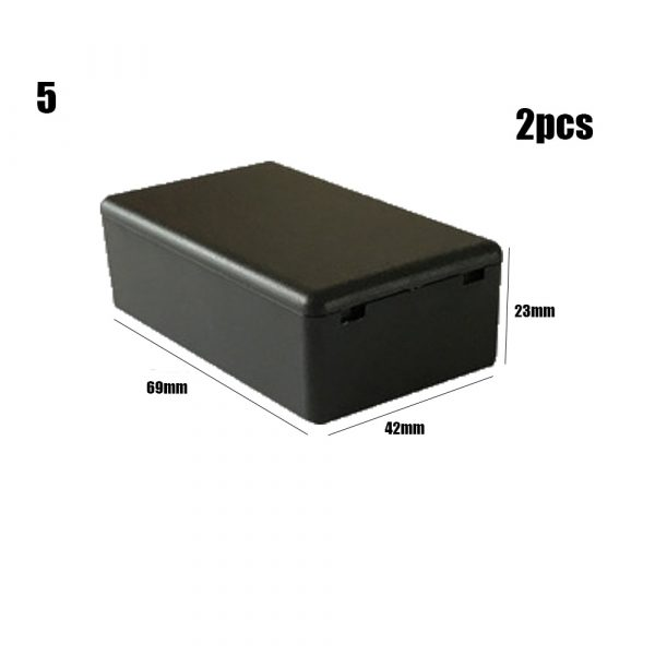 ABS Plastic Project Box Storage Case Enclosure Boxes 2pc