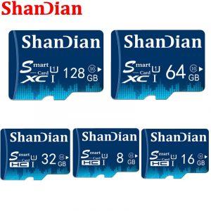 16GB 32GB 64GB Class 10 TF Memory Card 4GB 8GB Class 6 Smart SD Card