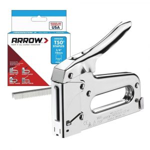 Arrow Professional Staple Gun & 1250 T50 6-14mm Staples