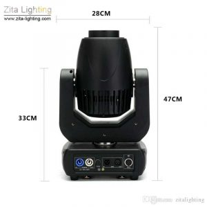 Moving Head 150W LED Stage Lights Beam or Spot DMX 512 control by Zita Lighting