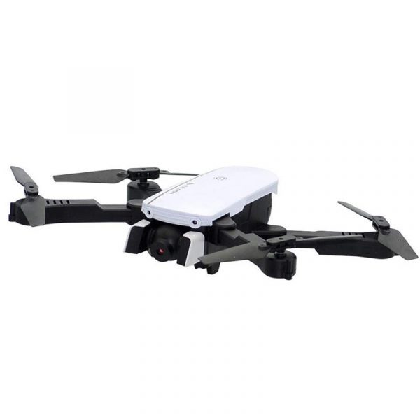 1808 Foldable Quadcopter Drone RC and WIFI with 4K FPV Wide Angle Camera