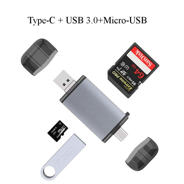 StickDrive 64GB 128GB Class 10 High Speed TF Memory Card With Card Adapter