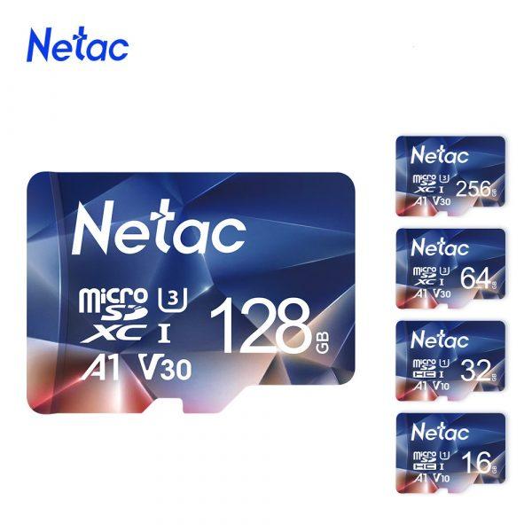 Netac Micro SD Card Memory Card Class10 TF Card 64GB 256GB 512GB 128GB 32GB 16GB Max 100MB/S SD/TF Flash microSD Card