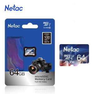 Netac Micro SD Card Memory Card Class10 TF Card 64GB 256GB 512GB 128GB 32GB 16GB Max 100MB/S SD/TF Flash microSD Card