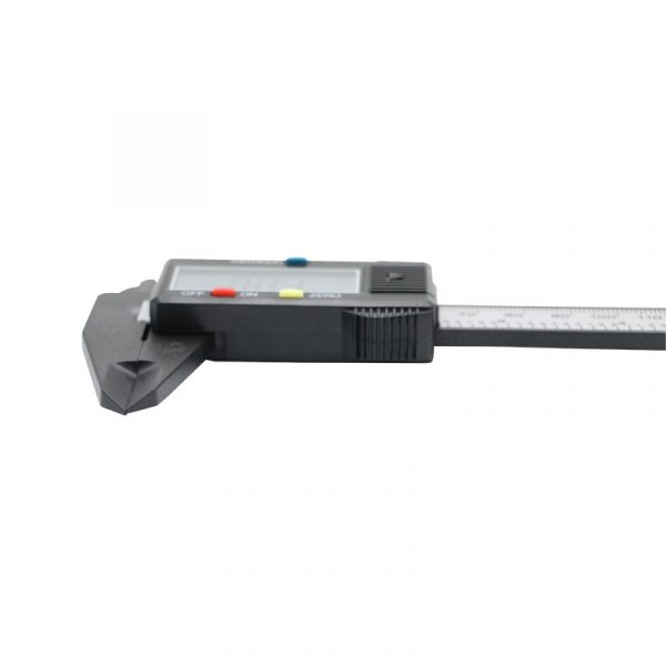 Digital Vernier Calipers 150 mm 6 inch Carbon Fiber Micrometer with LCD