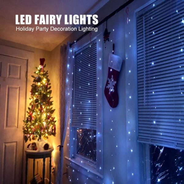 3m LED Fairy Lights Curtain with Remote Control and USB